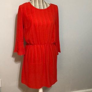 H&M red dress size 8